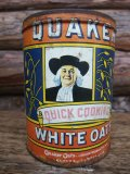Vintage Quaker Oats Tin Can (NK389)