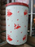 Vintage Happy Holiday Tin Can (NK735)
