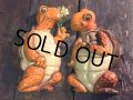 70s Vintage Turtles Wall Deco Set (PJ779)
