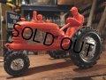 Vintage Plastic Toy Tractor #B (DJ379)
