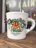 Vintage Heavy Ceramic Mug Magnolia's Peach (DJ403)