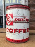 Vintage PS Coffee Can Two Pounds (DJ474)