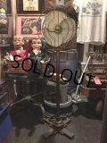 30s Vintage GE Pedestal Floor Fan Industrial  (DJ843)