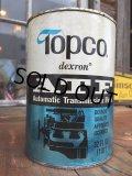 SALE! Vintage Topco 1 Quart Motor Oil Can (DJ881)