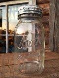 Vintage Kerr Masons Glass Jar (MA249)