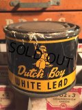 Vintage Dutch Boy Paint White Lead Can (MA463)