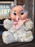 Vintage My Toy Rubber Face Doll Cat (MA496)