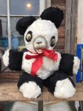 Vintage Rubber Nose Doll panda bear (MA605)