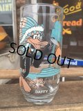 70s Vintage Pepsi Glass Looney Tunes Daffy Duck (MA728)