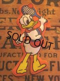 70s Vintage Disney Puffy Magnet Donald Duck (AL4521)