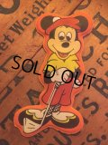 70s Vintage Disney Puffy Magnet Mickey (AL4529)