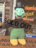 50s Vintage Disney Jiminy Cricket Rubber Face Doll Gund (AL265)