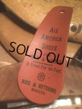 Vitage Advertising Shoe Horn All America Shoes (AL374)