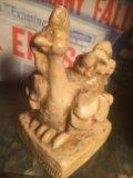 70s Vintage Massage Doll / Wanna fowl around? (AL473)