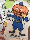 70s Vintage McDonalds Ballon Puppet Big Mac (AL521)