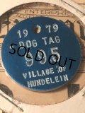 1979 Vintage Dog Tag #995 (AL2593)