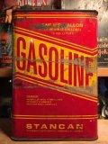 Vintage Gasoline Metal Can Stancan 1GL (AL5741)