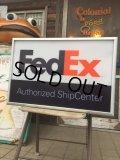 Vintage Fedex Lighted Sign (AL585)