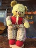 Vintage Rubber Face Doll Bear (AL594)
