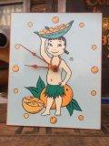 Vintage Tropicana Hula Girl Wall Clock (AL700)