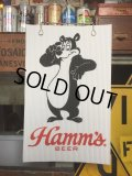 Vintage Hamm's Bear Poster Sign (AL598)
