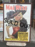 Vintage MAE WEST Every Day & Every Day's a Holiday Poster (AL705)