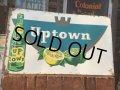 Vintage Uptown Soda  Embosed Sign (AL709)