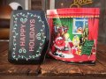 Vintage M&M's Tin Can Happy Holidays (AL820)