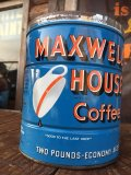 Vintage Maxwell House Coffee Can Two Pounds (AL895)