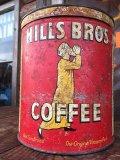 Vintage Hills Bros Coffee Can L (AL903)