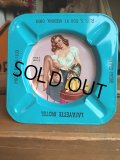50s Vintage Pin-Up Girl Ashtray LAFAYETTE MOTEL (AL939)