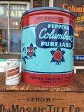 40s Vintage Colmbine Pure Lard Tin (AL7398)