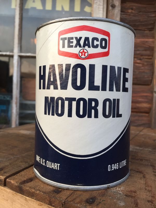 Sale vintage texaco havoline 1 quart motor oil can al4200 2000toys Sale on motor oil