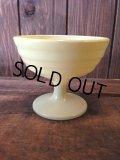Hazel Atlas Sherbet Cup yellow(NR-112)
