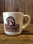 画像1: VINTAGE U.S.A. CRAZY HORSE STEAK HOUSE Restaurant Heavy Mug (NR-158) (1)