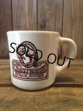 VINTAGE U.S.A. CRAZY HORSE STEAK HOUSE Restaurant Heavy Mug (NR-158)