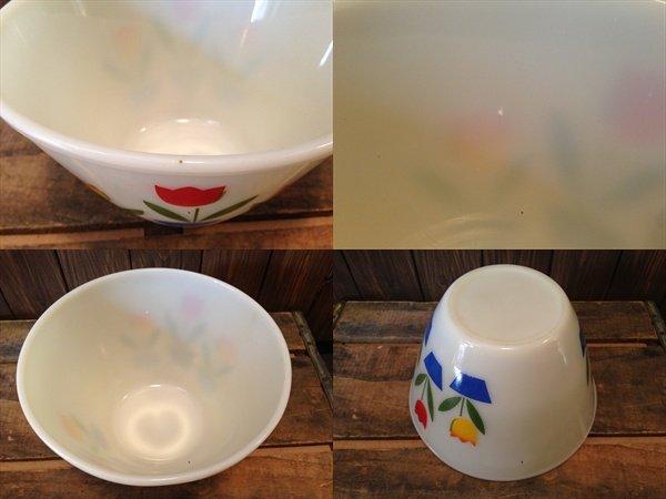画像2: Fire King Tulip Mixing Bowl L(NR-164)
