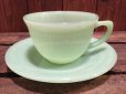画像1: Fire King Jane Ray Cup & Saucer (NR-170) (1)