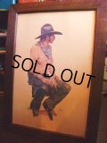 Coors Cowboy Western Print w/frame (AC-247)