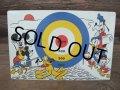 Vintage Disney MICKEY TIN BORD GAME (AC-480)