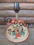 Vintage Disney DRUM LAMP (AC-369)