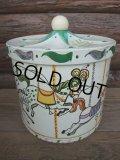 Vintage Ice Box / carousel (AC-559)