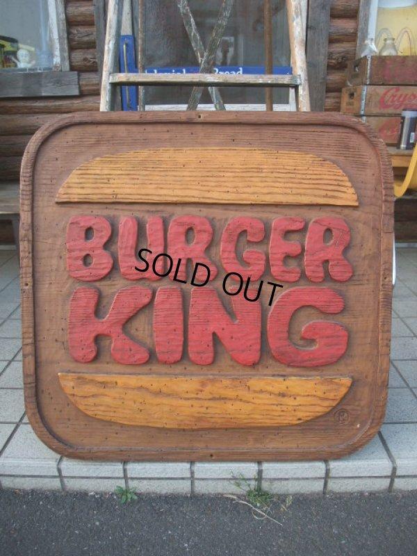 画像1: Vintage Burger King Huge Sign (AC-564)