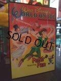 Vintage Peter Pan Poster w/Frame (AC-561)