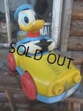 Vintage Disney DONALD DUCK PULL CAR (AC-581)
