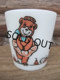 Milk Glass Mug / Bear (AC-614)