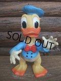 70s Vintage Disney Donald Rubber Doll / Ledraplastic  (AC-745)