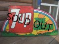 Vintage Peter Max x 7UP Sign (AC746)