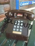 70s Vintage Telephone / Brown (AC-822)