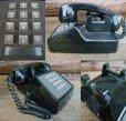 画像2: 70s Vintage Telephone / Black (AC-823)  (2)